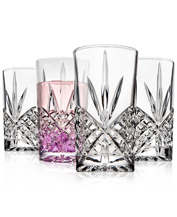 Dublin Acrylic Set of 4 Highball Glasses Godinger
