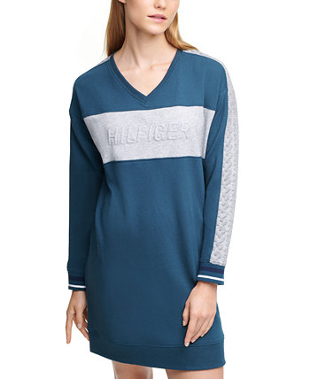 Logo-Embossed Sweatshirt Dress Tommy Hilfiger