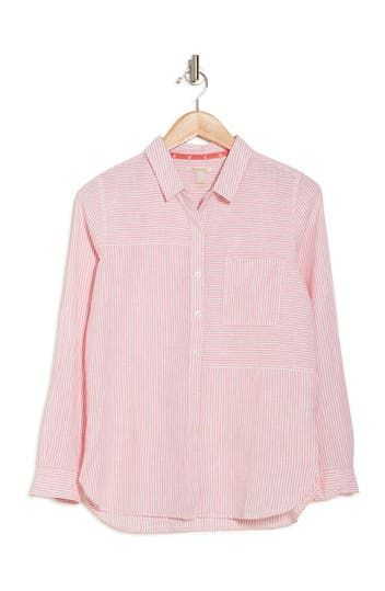Beachfront Striped Collared Shirt Barbour
