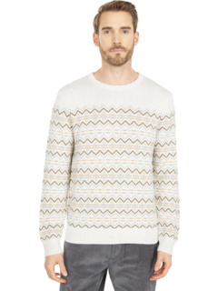 Classic Fit Fair Isle Print Sweater Nautica