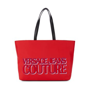Logo Tote Versace Jeans Couture