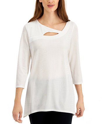 Cut-Out Top, Created For Macy's J&M Collection