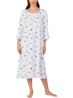 Cotton Peached Jersey Knit Long Sleeve Ballet Nightgown Eileen West