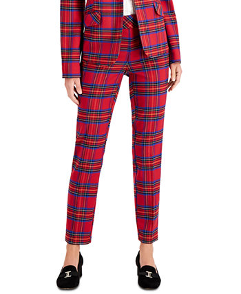 Plaid Ankle Pants, Created for Macy's Charter Club