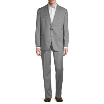 Lexington Standard-Fit Pinstriped Wool-Blend Suit LAUREN Ralph Lauren