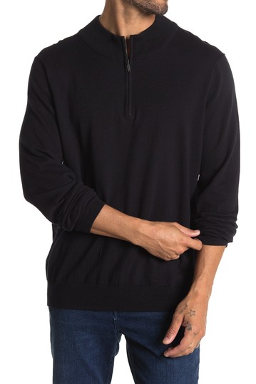 Quarter Zip Knit Sweater WALLIN & BROS