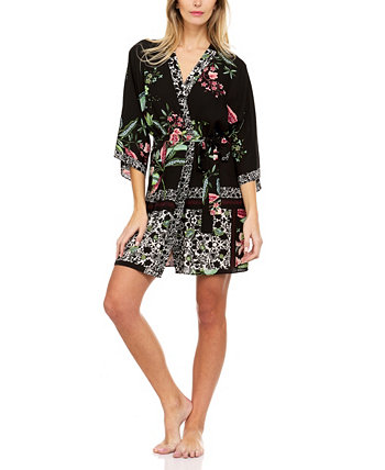 Dillion Rope Rope Crepe Robe Flora Nikrooz Collection