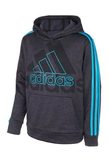 Statement BOS Hooded Pullover (Big Boys) Adidas