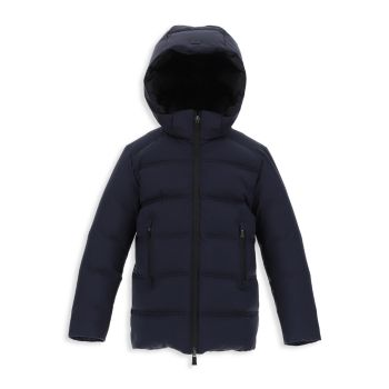 Boy's Laminar Goretex Windstopper Quilted Parka HERNO