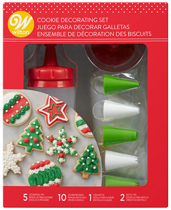 18-Pc. Holiday Cookie Decorating Set Wilton