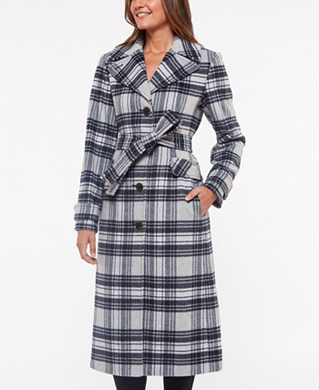 Plaid Belted Coat Kate Spade New York