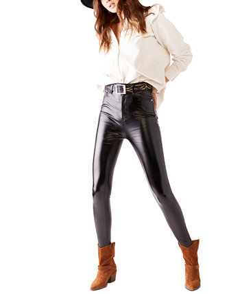 Phoenix Coated Skinny Jeans Free People