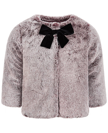 Baby Girls Gradient Faux-Fur Coat, Created for Macy's First Impressions