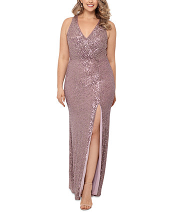Plus Size Embellished Gown XSCAPE