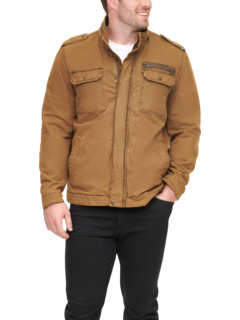 Big & Tall Stand Collar Cotton Military Jacket - Tall Levi's®