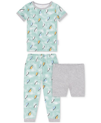 Toddler Boys 2-Piece Lightening-Print Pajama Set with Shorts Max & Olivia