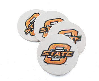 Oklahoma State University Coasters, Set of 4 THIRSTYSTONE