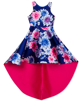 Big Girls Floral High-Low Dress Rare Editions