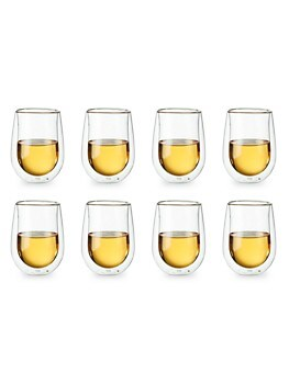8-Piece Double-Wall Stemless Glass Set ZWILLING J.A. Henckels