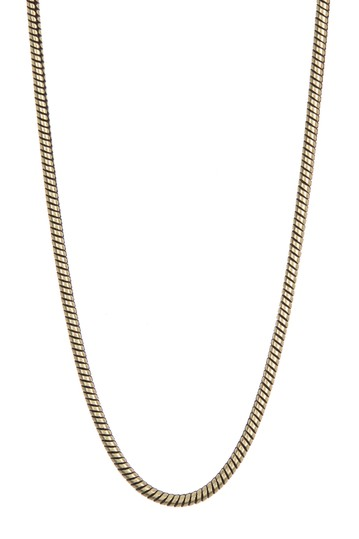 Round Snake Chain Necklace Nordstrom Rack