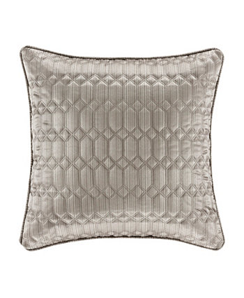 """Luxembourg Square Decorative Throw Pillow, 20"""" x 20"""" J Queen New York"""