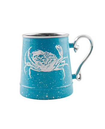 Speckled Crab Decal Beer Mug THIRSTYSTONE