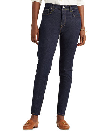 High-Rise Skinny Ankle Jeans Ralph Lauren