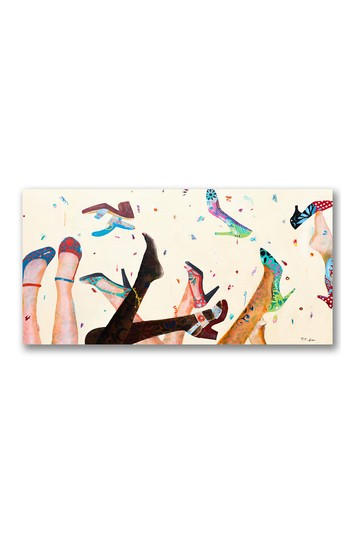 Opening Day at the Salon Gallery Wrapped Canvas Wall Art Courtside Market