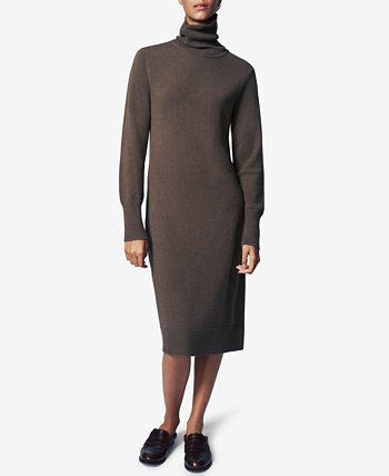 Turtleneck Sheath Dress B new york