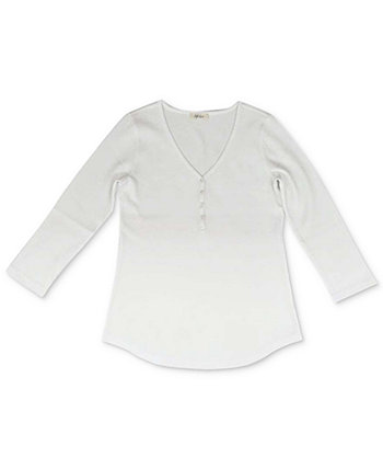 Petite V-Neck Top, Created for Macy's Style & Co