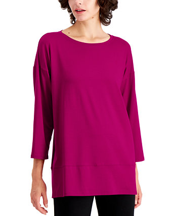 Layered-Hem Tunic Eileen Fisher