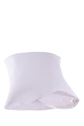 Manor Ridge 100% Waterproof And Hypoallergenic Pillow Protector - White - King Modern Threads