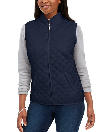 Petite Quilted Puffer Vest, Created for Macy's Karen Scott