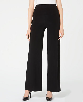 Wide-Leg Pull-On Pants Anne Klein