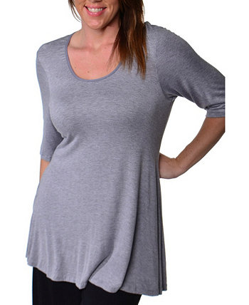 Women's Plus Size Tunic Top 24seven Comfort Apparel