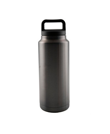 36 oz Black Nickel Beer Growler THIRSTYSTONE