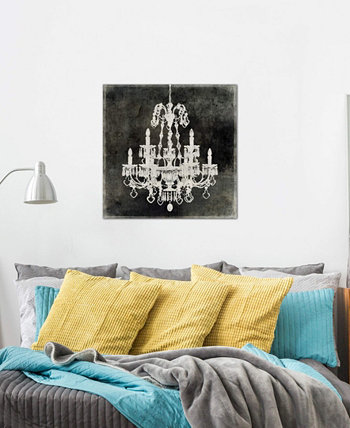 """Chandelier II"" by Oliver Jeffries Gallery-Wrapped Canvas Print (26 x 26 x 0.75) ICanvas"