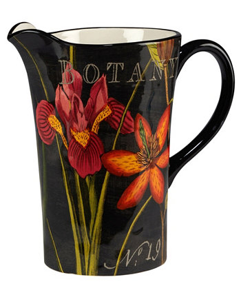 Botanical Floral Pitcher Certified International
