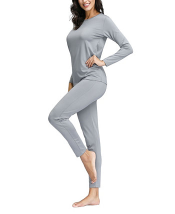 Women's Plus Size Top and Legging Set Degrees of Comfort
