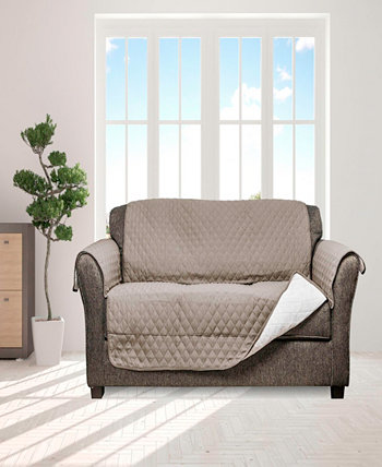 """Wallace 114"""" x 75"""" Water Resistent Sofa Cover Quick Fit"""