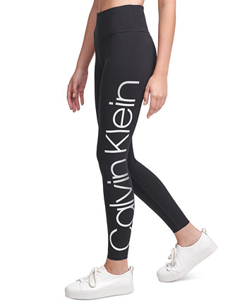 Jumbo-Logo High-Waist Leggings Calvin Klein
