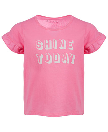 Little Girls Shine Today Cotton T-Shirt, Created for Macy's Ideology