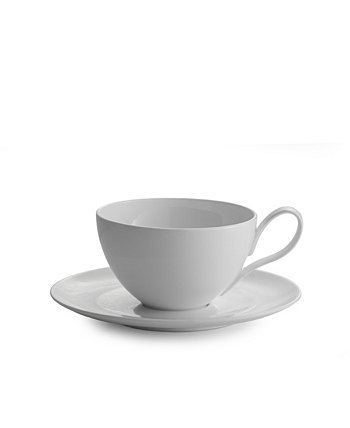 Skye Caf Au Lait and Saucer Nambe