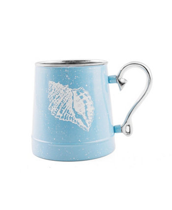 Speckled Shell Decal Beer Mug THIRSTYSTONE