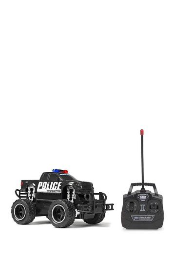 Ford F-150 Police 1:24 RTR Электрический RC Monster Truck World Tech Toys