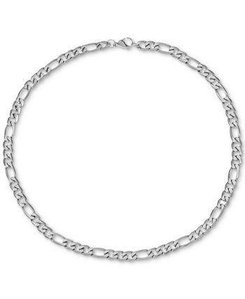 "INC Men's Figaro Link 24"" Chain Necklace, Created for Macy's INC International Concepts"