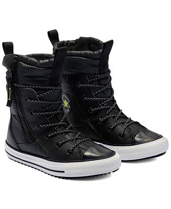 Big Girls Water Repellent Chuck Taylor All Star MC High Top Boots from Finish Line Converse
