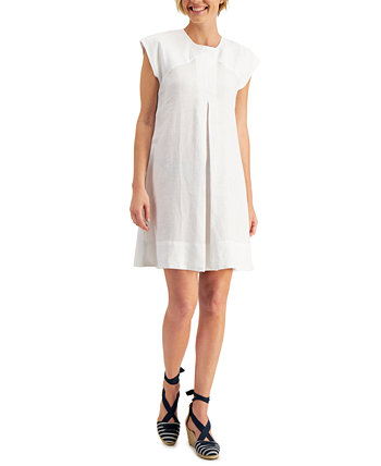 Tie-Back A-Line Dress, Created for Macy's Charter Club