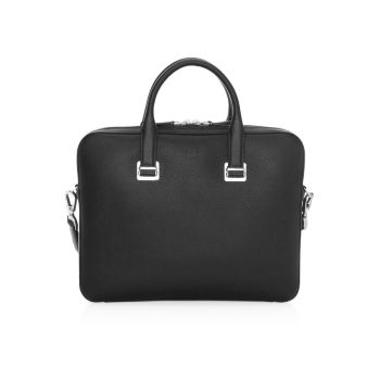 Slim Leather Document Case Dunhill