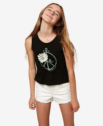 Big Girls Peace and Surf Tank Top O'Neill